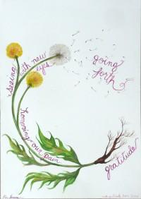 dandelion spiral